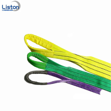Sollevamento Poliestere Heavy Duty Sling Flat all'ingrosso