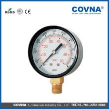 Calibre de pressão normal com ligação traseira ou inferior