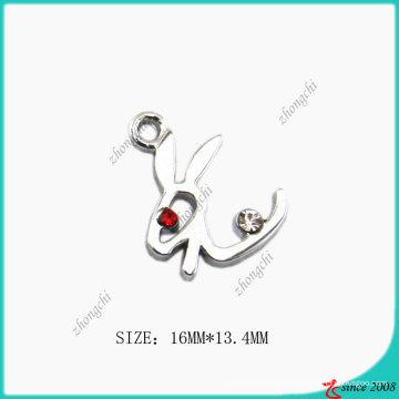 Серебро хромированный цинковый сплав Кролик прелести (ПСН)