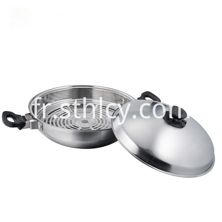 Multipurpose 35cm Chinese Style Fry Pan2