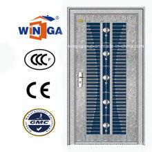 Puerta del metal de la seguridad del acero inoxidable del mercado de Oriente Medio (W-GH-21)