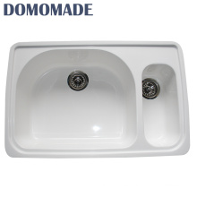 Wholesale chemical resistant acrylic kitchen sink tops/top mount acrylic kitchen sink