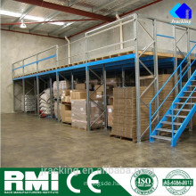 Modular Raised Storage Warehouse Mezzanine
