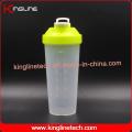 700ml novo design Plastic Protein Shaker Garrafa com filtro (KL-7020D)