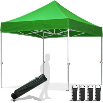 Gazebo 10x10 pop-up per impieghi gravosi 3 stagioni