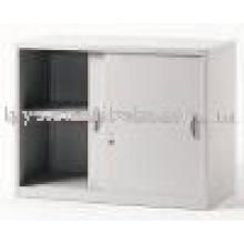 mini steel sliding door locker