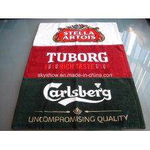 100% Baumwolle benutzerdefinierte gedruckten Bar Handtuch (SST3001)