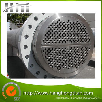 Tube Sheet and Baffle for Heat Exchanger