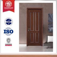 Prix d'usine porte simple porte en bois teinté en bois porte porte en bois