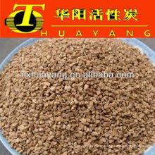 Coquille de noix de 0.8-1.4mm pour la filtration de l'eau / abarsive / polissant
