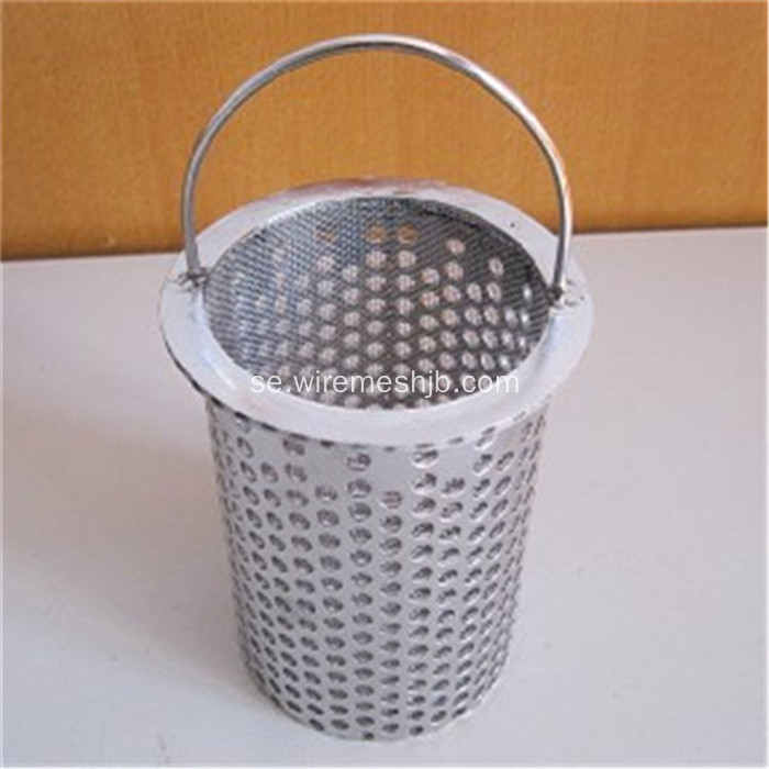 304 Wire Mesh Woven Filter Screen i rostfritt stål