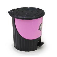 Круглый творческий пластиковый сундук для пепельницы (YW0082)