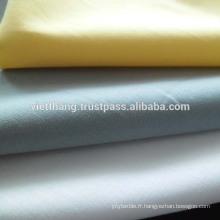 Tissu en coton léger 100 * 90 / CM60 * CM60 73gsm de haute qualité du Vietnam