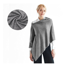 PK18A15HX Cashmere Acryl 3-in-One Strick Poncho Topper Wrap Schal Pullover