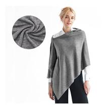 PK18A15HX Cashmere Acrílico 3-em-um Poncho De Malha Topper Wrap Scarf Sweater