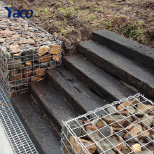 Factory price Hengshui 4mm 5mm 6mm Galvanized gabion mesh gabion box 0.5mx1mx1m