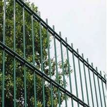 welded double wire mesh fence