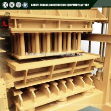 Pequenas máquinas de fabricação industrial QTJ4-20 auto máquina de fabricação de tijolos