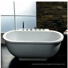 Classic Simple Freestanding Massage Bathtub (AM128)