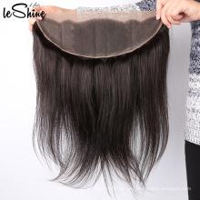 100% Virgin Brazilian 13 * 6 Spitze Frontal von Ohr zu Ohr Nagelhaut Aligned Hair Lace Frontal