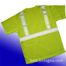 safety T shirt, safety t-shirt, reflex t-shirt