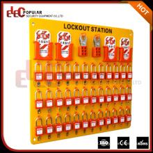 Elecpopular China Cheap 36 Padlock Safety Lockout Tagout Station para maior fabricante