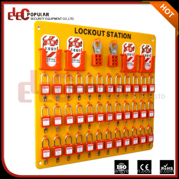 Elecpopular China Cheap 36 Padlock Safety Lockout Tagout Station For Larger Manufacturer