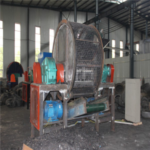 Assistent Equipment Whole Tire Crusher Anlage