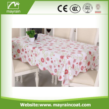 Round/ Square PVC Wedding Banquet Table Clothes