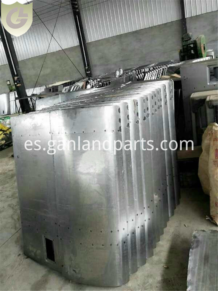 349D Excavator Compartment door
