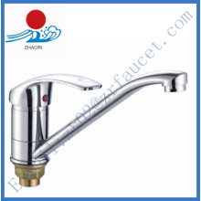 Brass Body Single Handle Kitchen Faucet (ZR20705-A)