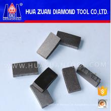 China-Diamant-Segmente für den Schnitt des Steins