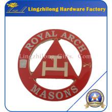 Masonic Design Royal Arch Metal Sword Emblem