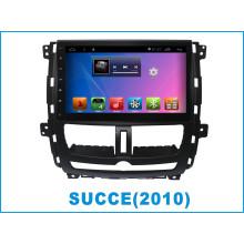 Système Android GPS Navigation Player DVD voiture pour Succe 10,2 pouces avec Bluetooth / WiFi / TV / MP4