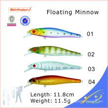 MNL009 chinois en plastique dur en plastique artificielle appât de pêche leurre flottant