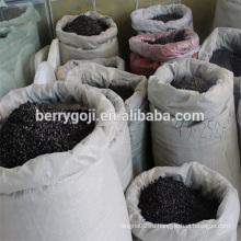 Черные ягоды Goji из фермы