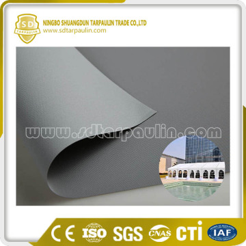 Flexible Outdoor Tent Fabric PVC Coated Fabric