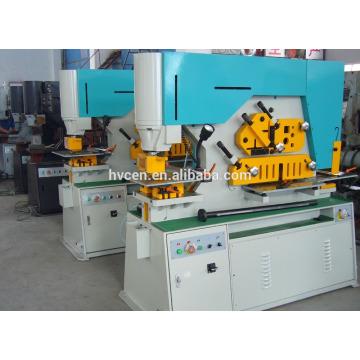 Q35Y hydraulic channel cutting machine/used folding tables