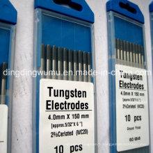 Électrode de cérium tungstène pour le soudage TIG