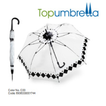 New arrival custom PVC Transparent umbrellas New arrival custom PVC Transparent umbrellas