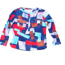 Camisa de balas de seda usada