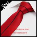 China Fabrik hochwertige handgefertigte Seide gewebt dünne Panel Krawatte