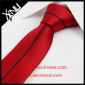 Chine Cravate mince tissée faite main en soie faite main de haute qualité