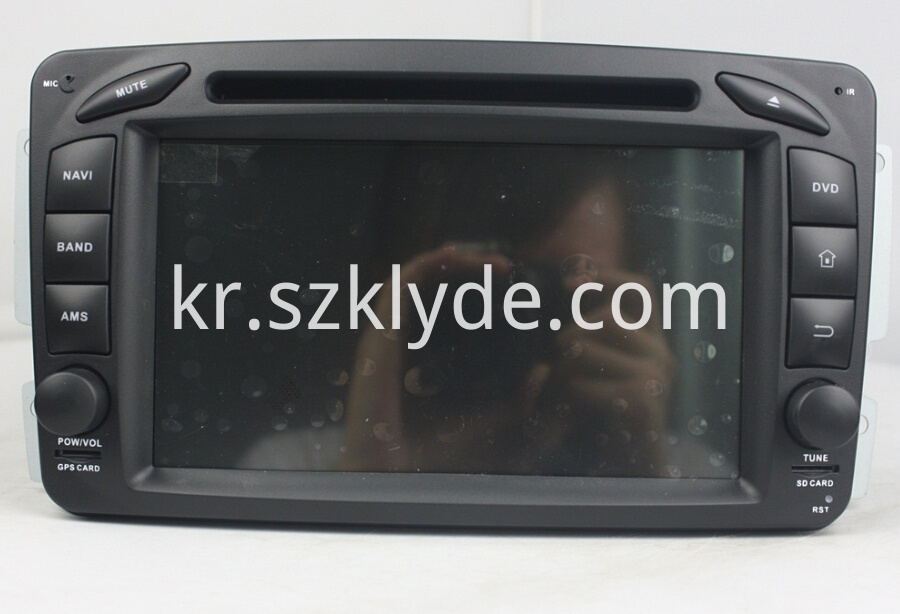 DVD Player of Benz