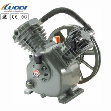 V type 2 cylinder air compressor pump piston air compressor head for sale