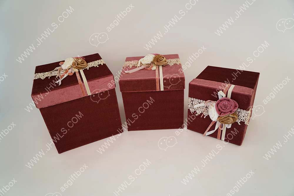 Handmade shopping box