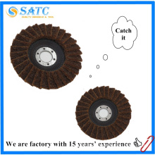 Non-woven cloth Flexible Zirconia abrasive flap disc for marble polishing About