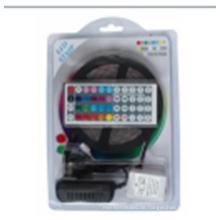 LED-Streifen-Lichter SMD2835 Wasserdichtes 5M 60leds / Meter RGB färben flexibles LED-Seil Lichter with12V 2A Stromversorgung