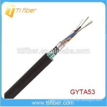 Double Armoured and Double Sheathed Outdoor Fiber Optic Cable GYTA53