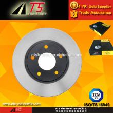 Voiture rotor de frein à disque avant, pièces de frein de voiture, pièces d'auto